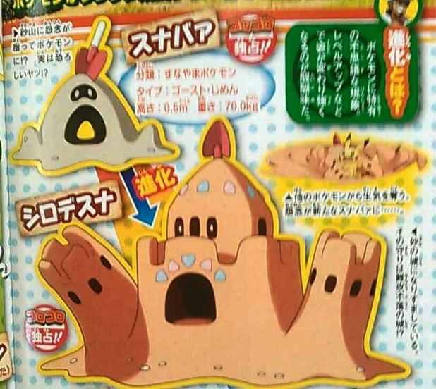 Take a look at some of the leaked Pokemon for Pokemon Sun and Moon