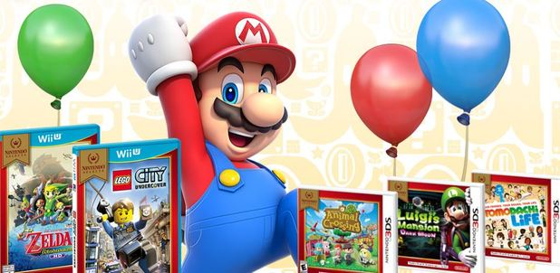 New Nintendo Selects bring hit games to a new low price
