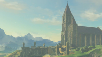 Nintendo show's off The Legend of Zelda: Breath of the Wild's dilapidated Temple of Time in short video