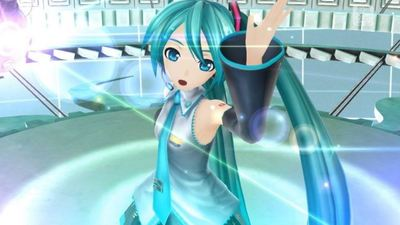 No, you won't be able to look up Hatsune Miku's skirt in new VR game