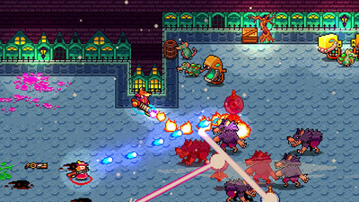 Twin stick shooter, Monsters and Monocles now available on Steam Early Access