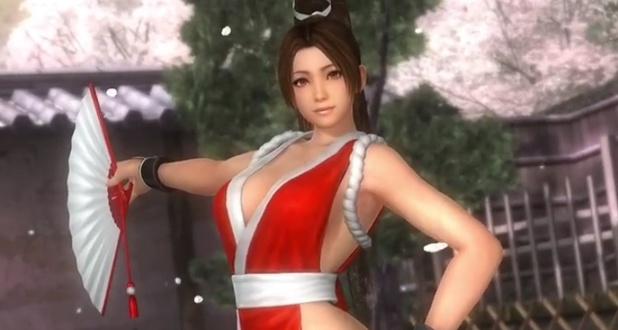 Check out Mai Shiranui's moves in Dead or Alive 5: Last Round