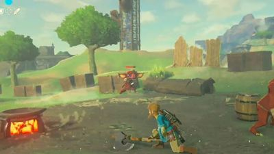 Check out the different weapons you'll be using in The Legend of Zelda: Breath of the Wild