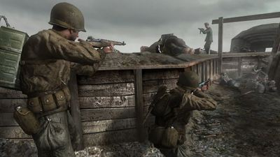Call of Duty 2's framerate doubles when played on Xbox One