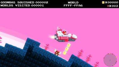 Someone made a procedurally-generated space exploration Mario game and it's AMAZING