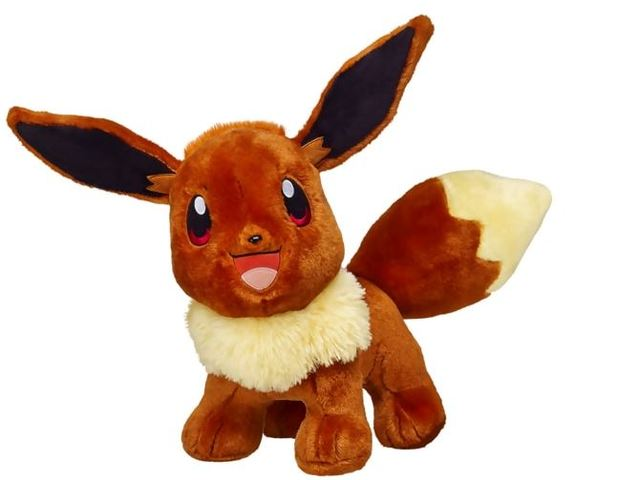 Pokemon: Build-A-Bear Releases Eevee Stuffed Animal