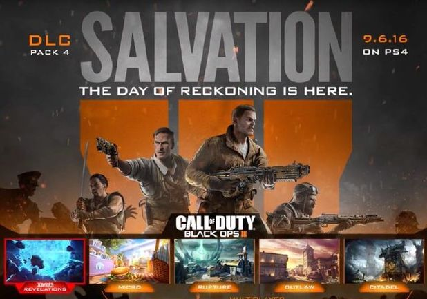 Call of Duty Black Ops 3 Zombies - Salvation DLC trailer REVEALED