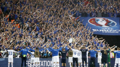 EURO 2016's 'Iceland clap' will feature in FIFA 17 / photo credit: Reuters