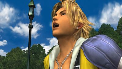 The Final Fantasy X soundtrack has been remixed to the beat of the infamous Tidus laugh