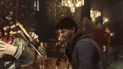 Dishonored 2 gameplay shows Corvo doing what he does best, being deadly