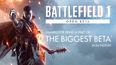 Battlefield 1 beta absolutely annihilates The Division and Destiny beta numbers
