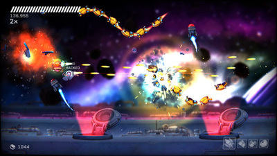 360-degree shooter RIVE, launches on PC and PS4 with new trailer