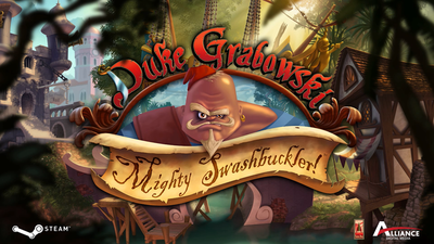 Point-and-Click Pirate adventure, Duke Grabowski: Mighty Swashbuckler, releasing next month