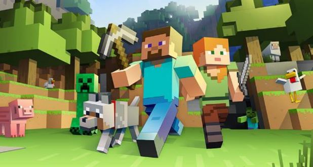 Minecraft: Story Mode - The Complete Adventure listing appears on Amazon; Xbox One S Minecraft bundle detailed