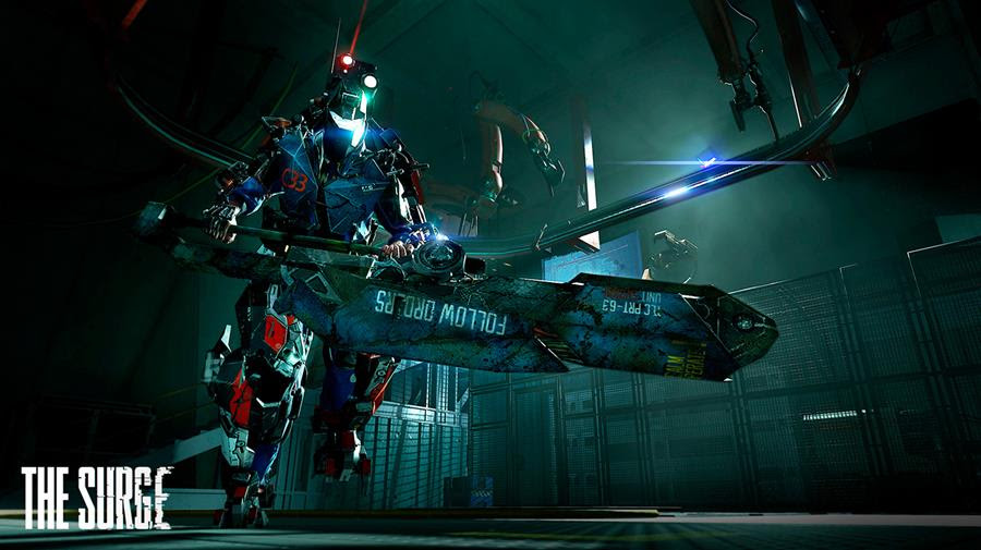 New screenshots of upcoming Action-RPG, The Surge show off ...