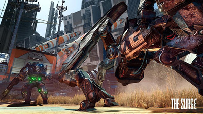 New screenshots of The Surge show off sweet-looking modular armor