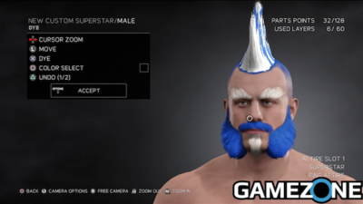 [Watch] GameZone creates a Superstar in WWE2k17