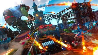 The only thing holding Sunset Overdrive back from releasing on PC is Microsoft