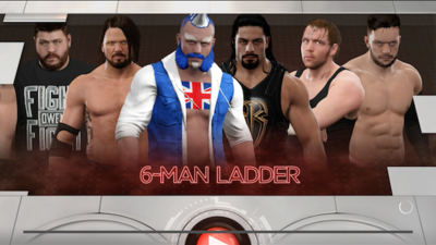 [Watch] GameZone in a 6-Man Ladder Match in WWE2k1