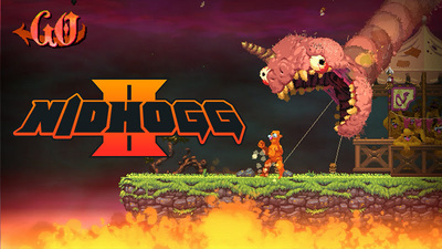 Nidhogg 2 has been announced, and it looks quite different