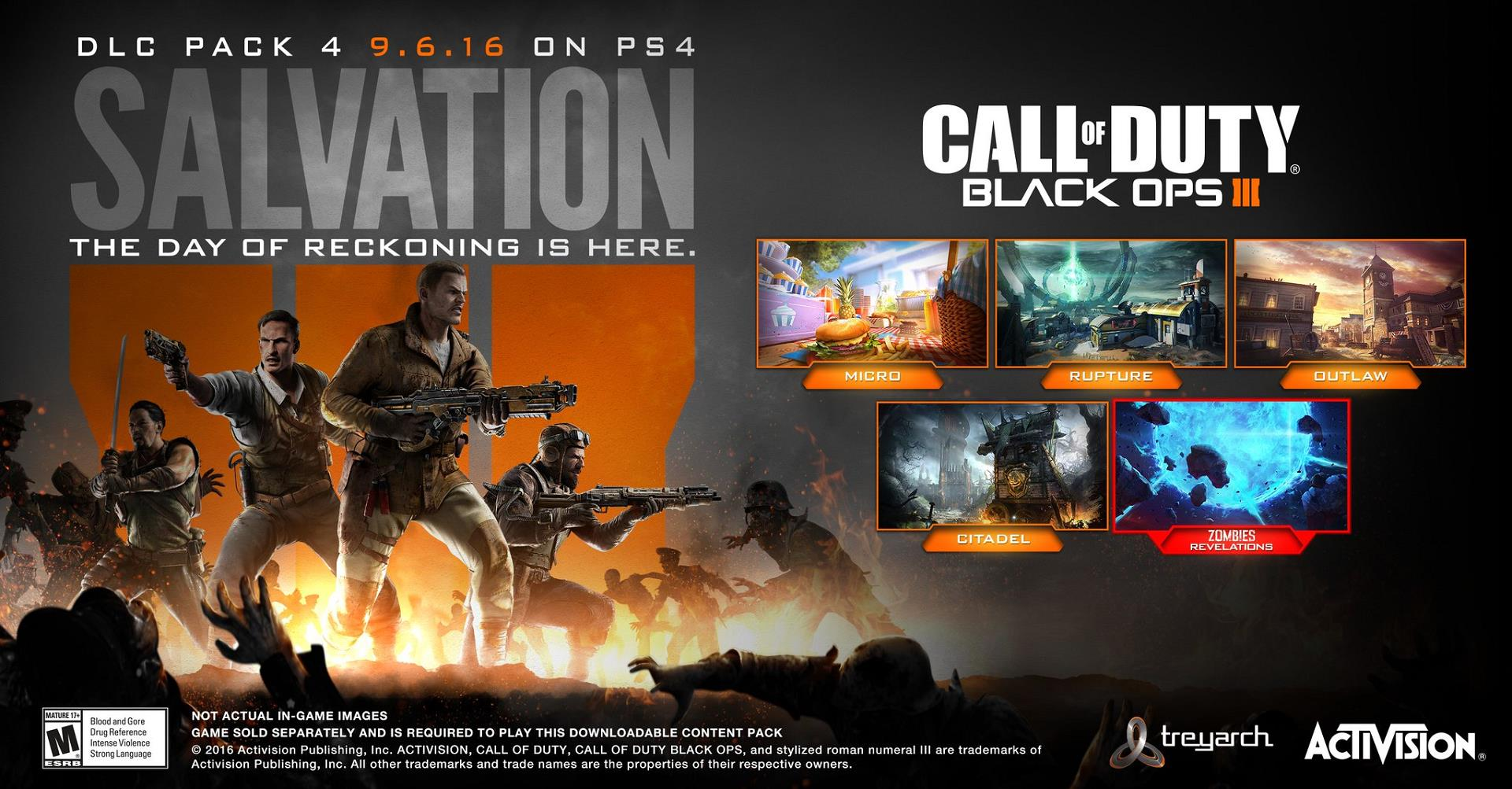 Call Of Duty Black Ops 3 S Final Dlc Salvation Releases