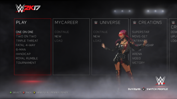 Review: Does WWE 2K17 layeth the smacketh down? / photo credit: 2K