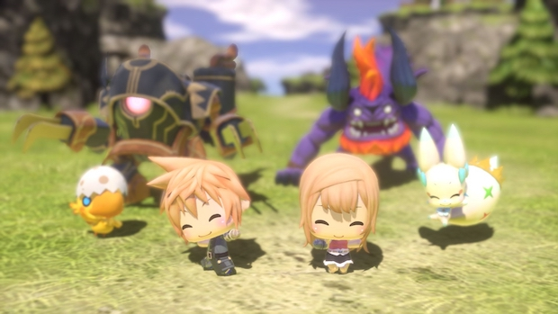 Review: World of Final Fantasy builds upon a proven model