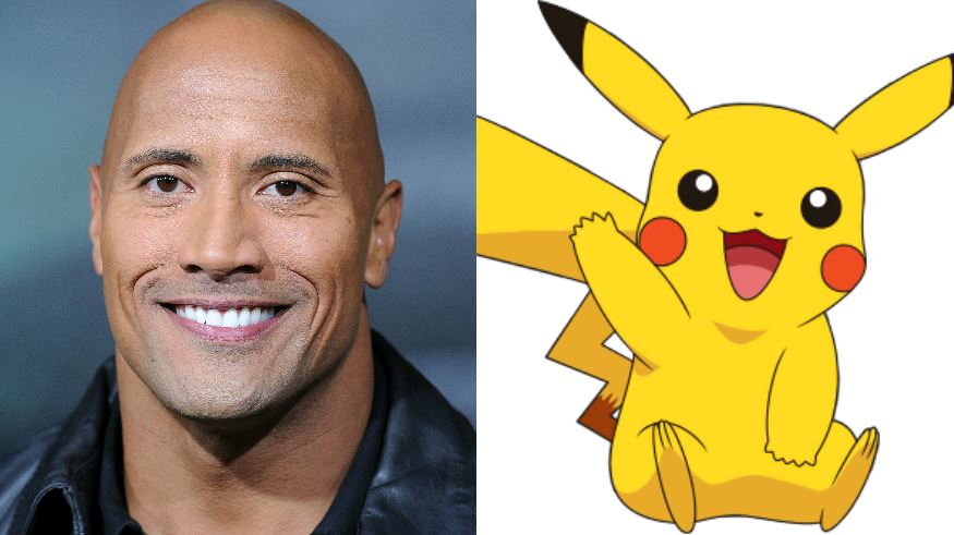 Dwayne Johnson dancing in a full-sized Pikachu costume is the best thing from Halloween this year