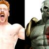 WWE's Sheamus went full Kratos for Halloween