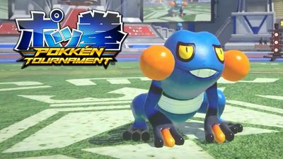 Croagunk announced for Pokken Tournament Arcade