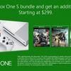 You can get an additional free game if you buy any Xbox One bundle from now until next week