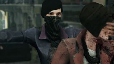 Dishonored 2 gets an extra bloody launch trailer