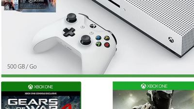 Get an Xbox One S bundled with Battlefield 1, Call of Duty: Infinite Warfare and Gears of War 4 for $320 right now