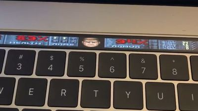 DOOM can play on anything, even the new MacBook Pro's Touch Pad