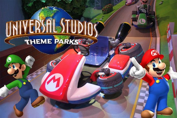 Mario headed to parks: Nintendo and Universal join forces