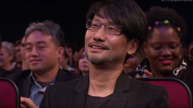 Hideo Kojima accepts Industry Icon award at The Game Awards 2016