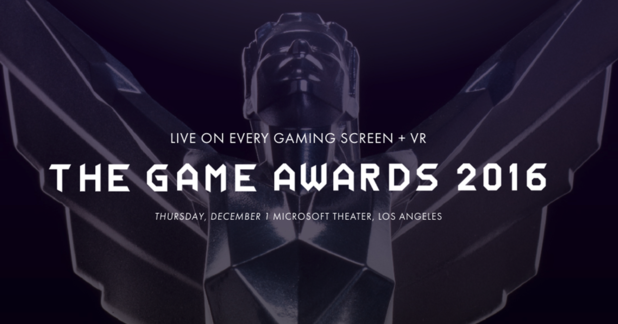 Here are all the winners of The Game Awards 2016