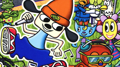 PaRappa the Rapper Title Rated in Korea