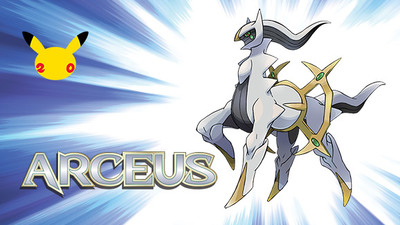 Arceus is once again available as a Mystery Gift prize