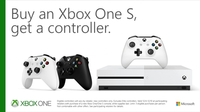 Buy an Xbox One S, Get an Additional Controller