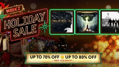 PS Store Holiday Sale Week 2 discounts PS4, PS3, and Vita games; Movies too