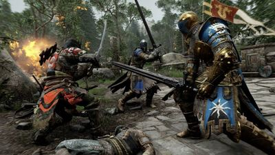 It looks like For Honor does not have Dedicated Multiplayer servers, uses P2P connectivity instead