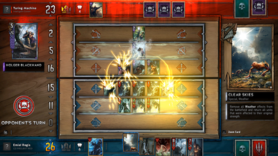 Gwent: The Witcher Card Game just got a massive new update featuring new cards and ranked play