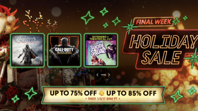 PS Store Holiday Sale Week 4 discounts PS4, PS3, and Vita games; Movies too