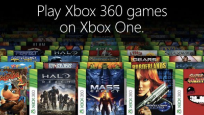Xbox One: Around 20% of Xbox 360's game library was made backward compatible since the feature released