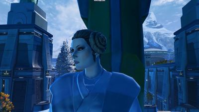 Players have been visiting Alderaan in Star Wars: The Old Republic to pay respects to Carrie Fisher