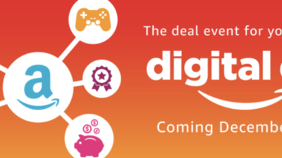 Amazon Digital Game Sale Begins Today on Digital Day