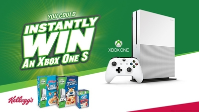 Kellog's and Xbox Team Up for a Giveaway