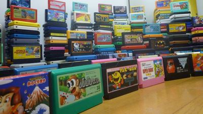 Idiot wife sells husband's 1,000+ collection of Famicom games for pennies on the dollar before going on a shopping spree for herself