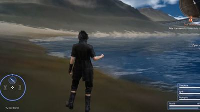 [Watch] Final Fantasy XV has a glitch that lets players explore the open world during the game's linear portion